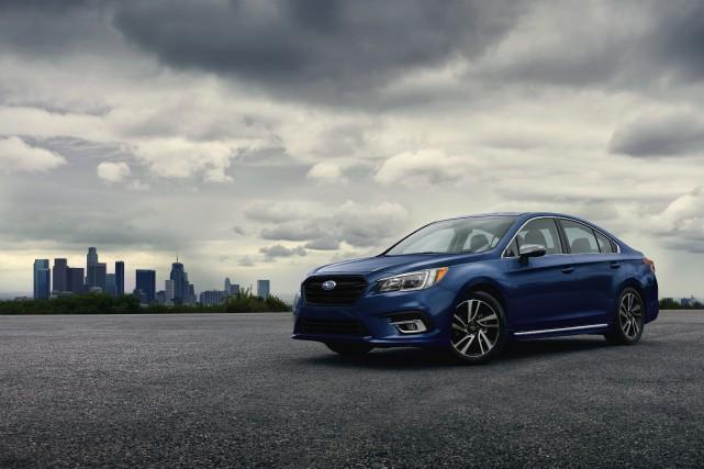 La Subaru Legacy 2019... (PHOTO FOURNIE PAR LE CONSTRUCTEUR)