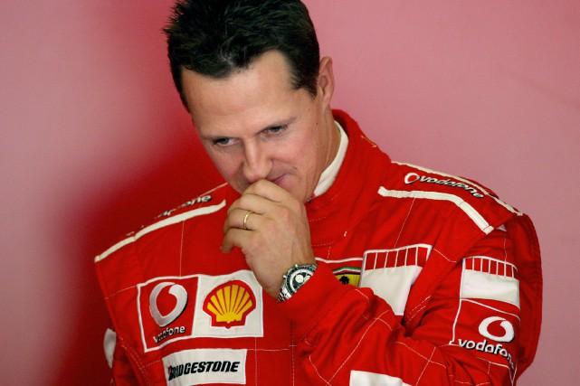 L'état de santé de Michael Schumacher est gardé... (Photo Jose Luis Roca, archives AFP)