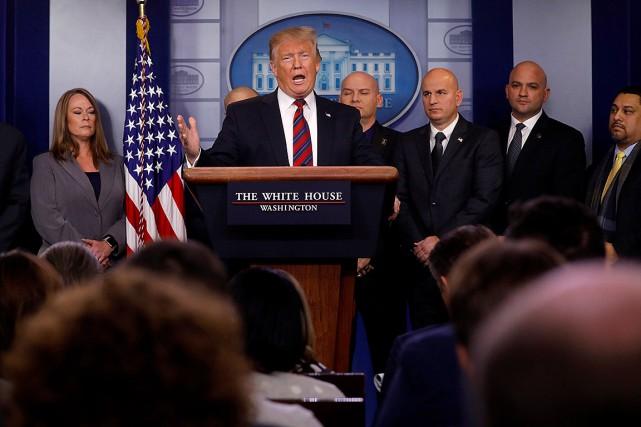 Trump face à un nouveau Congrès opposé à son projet de mur
