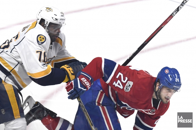 Predators-Canadien: notre couverture en direct