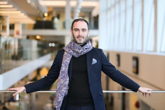 Renaud Loranger, directeur du festival de Lanaudière.... (Photo MARTIN TREMBLAY, La Presse)