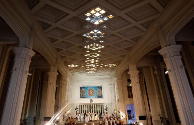 Une cathédrale de Nasr City, en périphérie du... (Photo AMR ABDALLAH DALSH, archives REUTERS)