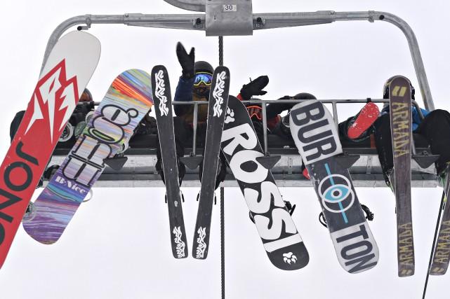 L'Association des stations de ski du Québec entamera... (Photo Pascal Ratthé, Gesca)