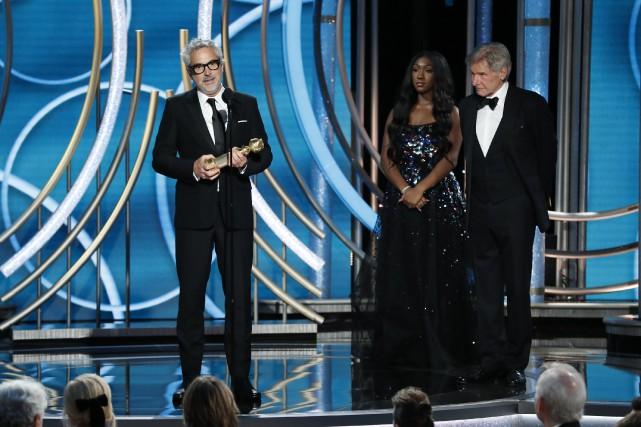 Alfonso Cuarón a remporté dimanche soir le prix... (PHOTO REUTERS)