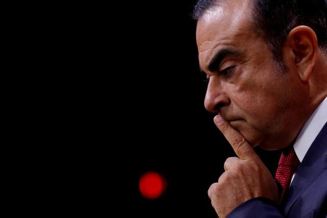 Carlos Ghosn comparaîtra demain devant un tribunal japonais,... (Photo d'archives REUTERS)