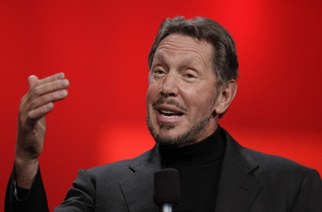 Le PDG d'Oracle, Larry Ellison, nommé récemment au... (Photo Eric Risberg, AP)
