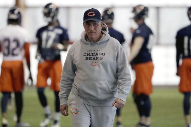 Vic Fangio deviendra le quatrième entraîneur-chef des Broncos... (Photo Nam Y. Huh, archives Associated Press)