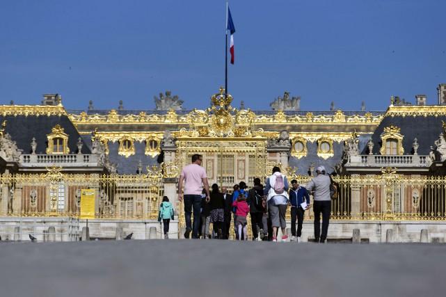 Le château de Versailles a reçu 8,1 millions... (Photo KENZO TRIBOUILLARD, archives AFP)
