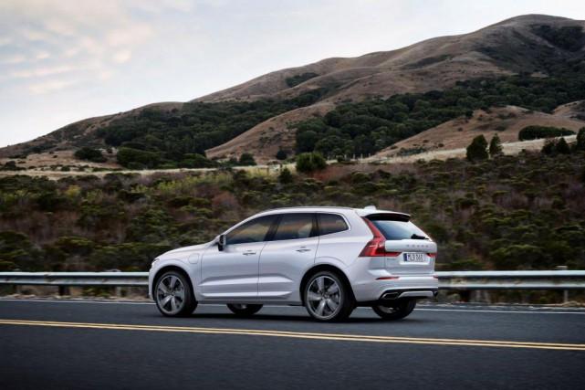 Le Volvo XC60paraît ramassé en raison de ses... (Photo fournie par Volvo)