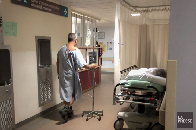 La Presse a visité les urgences de l'hôpital... (Photo Olivier PontBriand, La Presse)