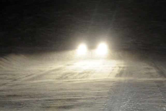 L'ensemble des routes qui avaient été fermées en raison de la tempête de neige... (Photo archives La Presse)