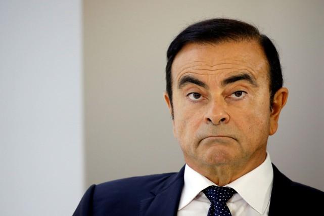 Carlos Ghosn conservait le soutien des actionnaires français... (Photo Regis Duvignau, REUTERS)