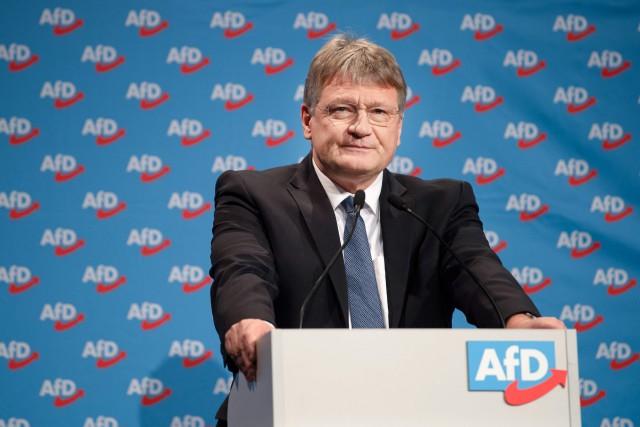 La tête de liste de l'AfD pour le... (Photo MONIKA SKOLIMOWSKA, AFP)