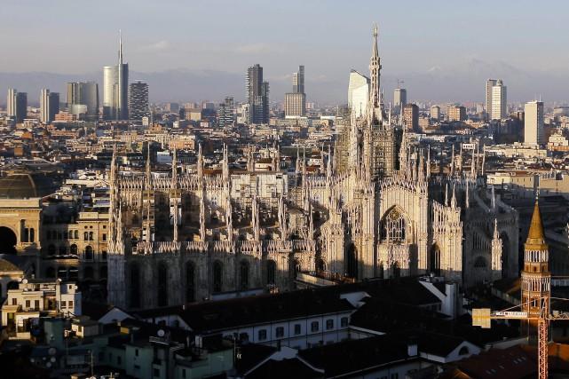 La ville de Milan, en Italie.... (Photo Luca Bruno, archives Associated Press)