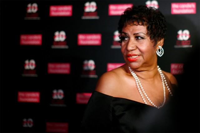 Un film biographique sur Aretha Franklin est en... (Photo Eric Thayer, archives Reuters)