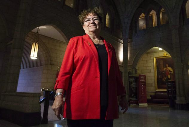 La sénatrice Yvonne Boyer.... (Photo Adrian Wyld, archives La Presse canadienne)