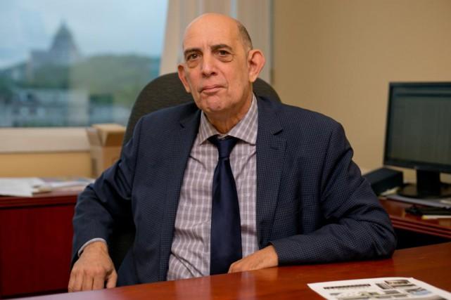 Marvin Rotrand est l'unique élu du parti è... (Photo David Boily, archives La Presse)