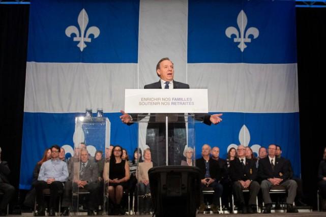 La CAQ assume aujourd'hui pleinement son positionnement conservateur,... (Photo Jacques Boissinot, archives La Presse canadienne)