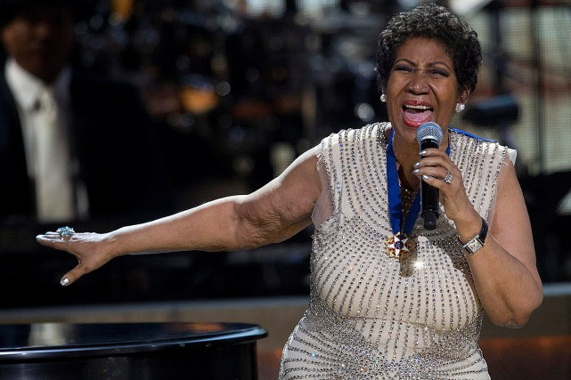 Aretha Franklin a succombé à un cancer du... (Photo Jose Luis Magana, archives REUTERS)