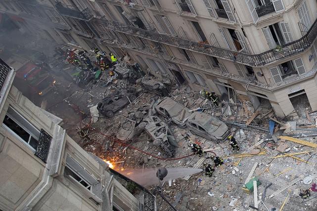 Explosion à Paris: le bilan grimpe à quatre morts