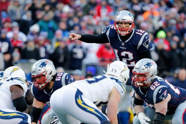 Tom Brady a vu 34 de ses 44... (PHOTO REUTERS)
