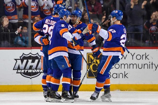 Les Islanders de New Yorkont une fiche de... (Photo Dennis Schneidler, USA TODAY Sports)