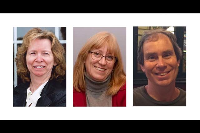 Anja Van Beek, Judy Booth et Bruce Thomlinson... (Photos La Presse canadienne)