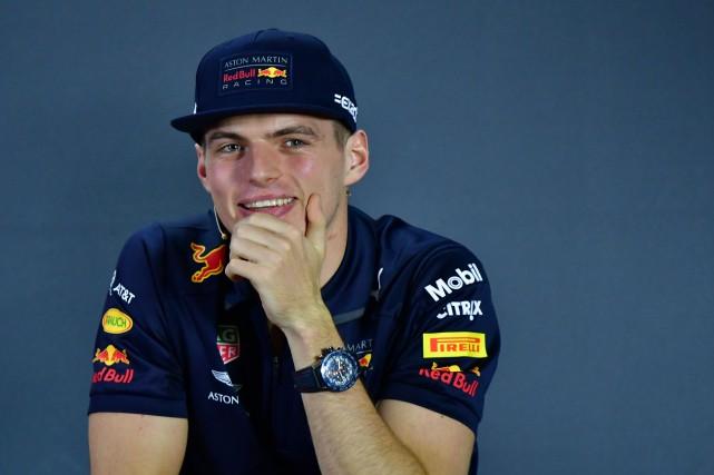 Le pilote néerlandais Max Verstappen, de l'écurie Red... (Photo GIUSEPPE CACACE, AFP)