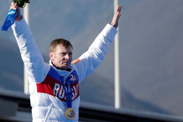 Le bobeur russe Alexander Zubkov avait remporté deux... (Photo Murad Sezer, archives Reuters)
