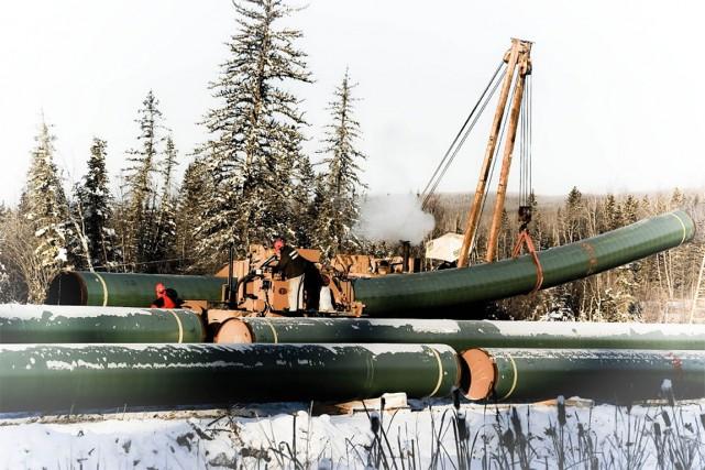 La nouvelle conduite acheminerait le gaz naturel de... (PHOTO CEPA UPI)