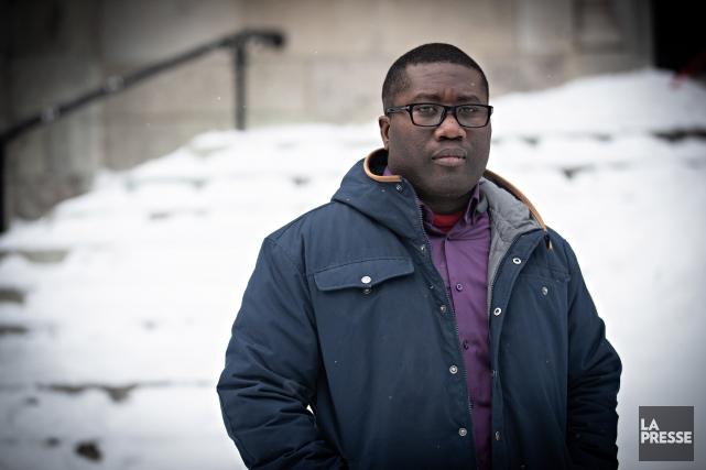 Il y a quelques semaines, Amadou Gaye est... (Photo Patrick Sanfaçon, La Presse)
