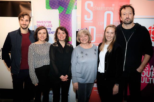 Dévoilement des finalistes du Prix collégial du cinéma... (Photo Edouard Plante-Fréchette, La Presse)