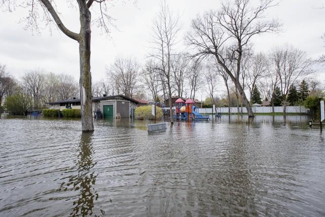 Les réclamations d'assurance attribuables aux conditions météorologiques extrêmes... (Photo Alain Roberge, archives La Presse)