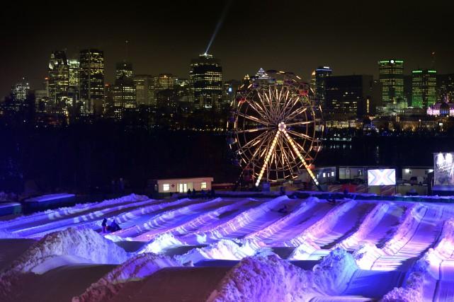 Même la Fête des neiges de Montréal ne pourra tenir tête au froid glacial et... (Photo Bernard Brault, archives La Presse)