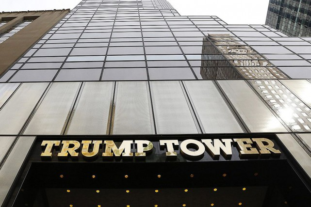La tour Trump de New York... (Photo Mark Lennihan, archives Associated Press)