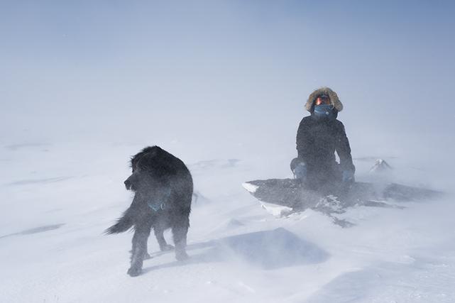 « Nous sommes l'hiver. » Ce slogan adopté par l'Équipe olympique canadienne... (ALEXI HOBBS)