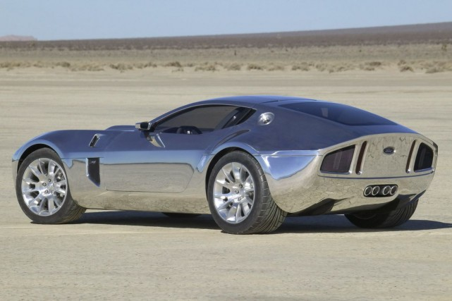 Le prototype Ford Shelby GR-1, présenté au Salon... (Photo Ford)