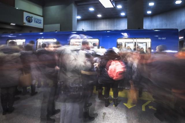 Interruption majeure du métro: un homme arrêté