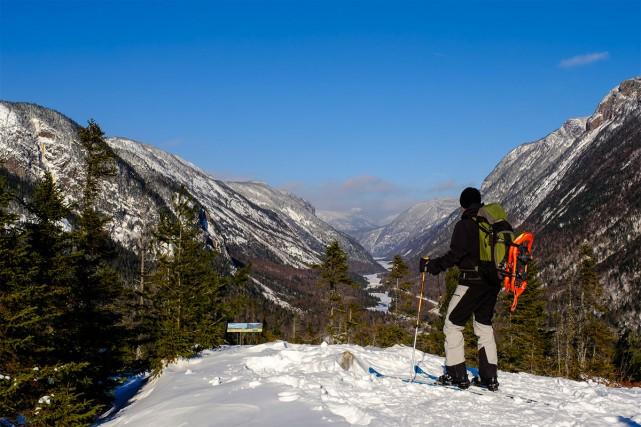 À défaut de pouvoir grimper l'Acropole, l'hiver, les... (PHOTO HUGO-SEBASTIEN AUBERT, LA PRESSE)