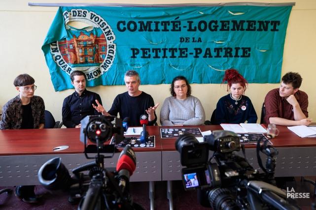 Le Comité logement de laPetite Patriea trouvé 17avis... (Photo Hugo-Sébastien Aubert, La Presse)