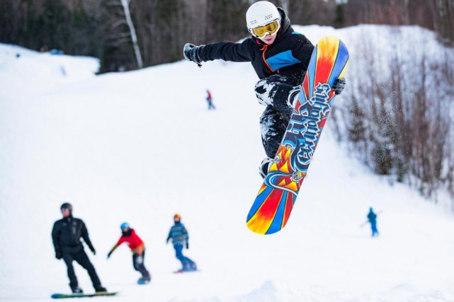 Aujourd'hui et demain, il est possible de skier... (Photo Edouard Plante-Fréchette, La Presse)