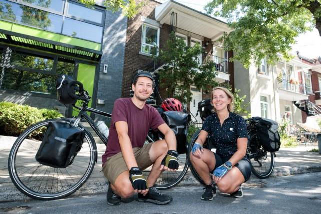 Les Montréalais Benjamin Gaucher et Aline Charles parleront... (PHOTO HUGO-SÉBASTIEN AUBERT, ARCHIVES LA PRESSE)