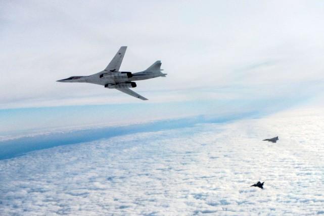 Le Commandement de la défense aérospatiale de l'Amérique du Nord (NORAD) a... (Photo archives AFP)