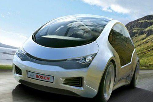 Un concept de voiture autonome Bosch.... (photo bosch)