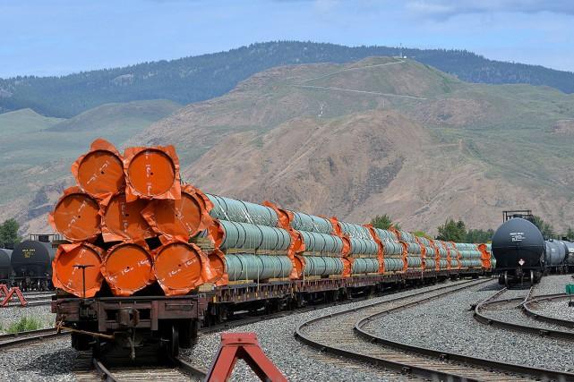 Ces conduits en acier ont été photographiés en... (Photo Dennis Owen, archives REUTERS)