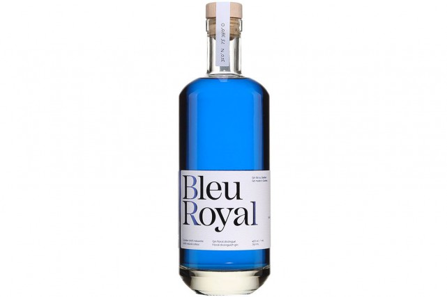 BleuRoyal Gin... (Photo fournie par la SAQ)