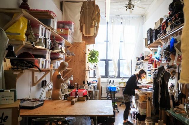 De plus en plus de créateurs québécois, comme... (Photo Olivier PontBriand, archives La Presse)