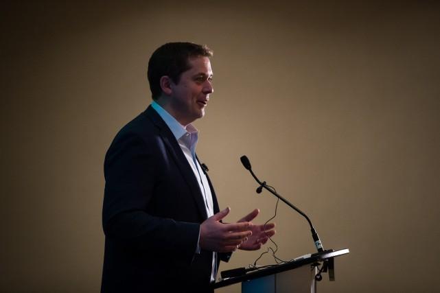 Andrew Scheer critique JustinTrudeau au sujet de l'immigration