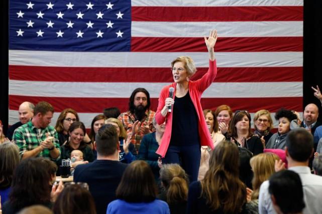 Elizabeth Warren, sénatrice du Massachusetts au Congrès américain... (PHOTO MICHAEL DWYER, ARCHIVES ASSOCIATED PRESS)