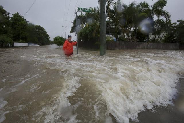 Près de 20000 habitations risquent d'être inondées si... (PHOTO REUTERS)